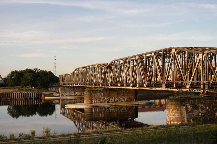 Abandoned Abandoned Places Bridge Full Frame Golden Hour Legacy Minolta Poland Polska ROKKOR SONY A7ii