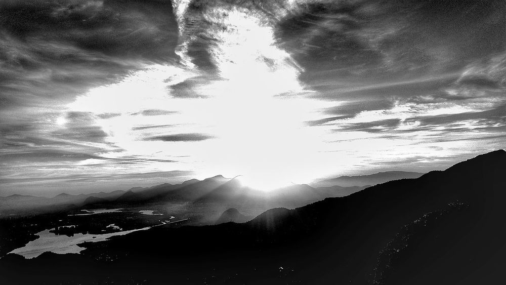 The Great Outdoors - 2015 EyeEm Awards Landscape Rio De Janeiro Pedra Bonita Landscape_photography EyeEm Best Shots - Landscape Sunset EyeEm Best Shots - Black + White Taking Photos Travel Photography