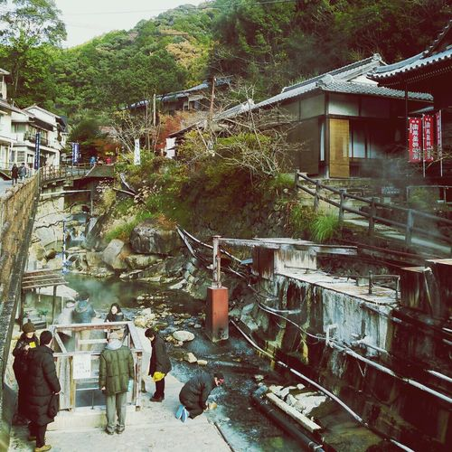 温泉たまごブース。 Onsen Travel Snapshot Streetphotography