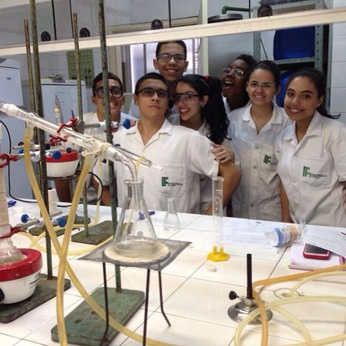 Melhor bancada. ?? Chemistry Ifrj Laboratory Quimica