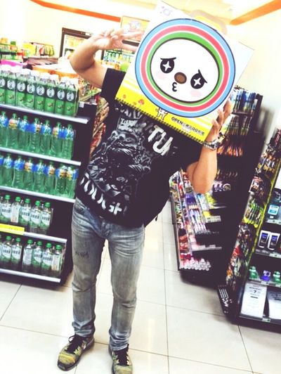 At 7-11 Open醬 That's Me Cheese! Relaxing Taking Photos Faces Of Summer Colorful 這樣子的商品,是不是大小朋友都想買一個回家呢~哈哈哈哈哈