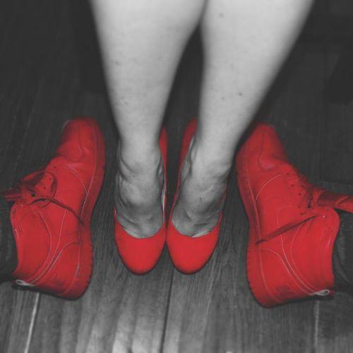 We throb Red Dunk Nike Jessicasimpson Redsup Thetob Thetobs_photos Enjoy The New Normal Beautifully Organized