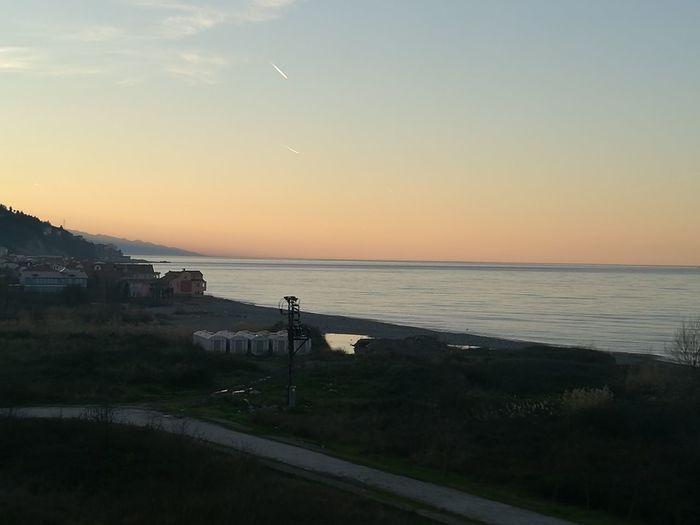 Sea Nihgt Sunset Sea Sky Beach Water Horizon Over Water Landscape