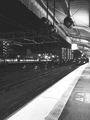 振り回されました。やっと帰れます。🚉🚃 Go Home Train Station Railway Station