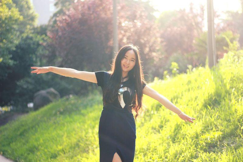 Natural Light Portrait Fresh On Eyeem  Nanjing Original Experiences 毕业季 校园 Summer 2016 Feel The Journey Portrait NUIST