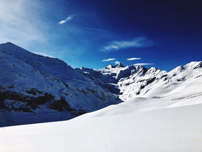 Sunny Alps Switzerlandpictures Switzerland Skiing Nature Swiss Mountains Swiss Alps Valais Moiry Valdanniviers Grimentz Snow Winter Mountain Beauty In Nature Snowcapped Mountain Landscape White Color No People Tranquil Scene Tranquility The Great Outdoors - 2018 EyeEm Awards