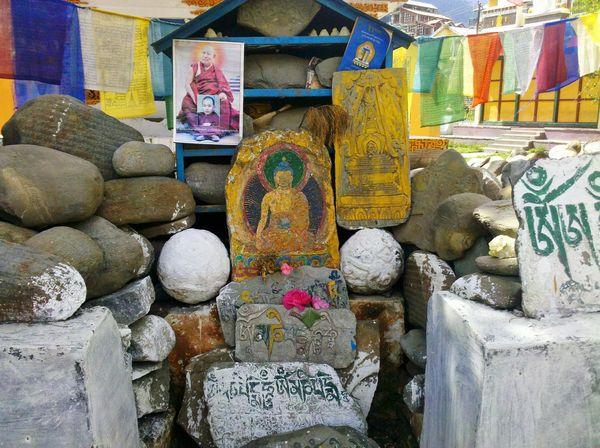 Scriptures Buddhist Monastery Lord Buddha Manali ,Himachal Pradesh Dalai Lama Young Photo