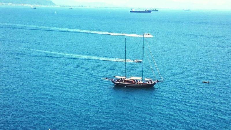 Sea Sea And Sky Seascape Ship A Ship On The Horizon The Essence Of Summer