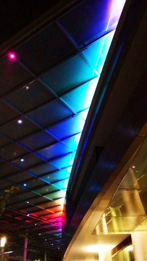 When it lights up beautifully just for you... Colorful Rainbow Design Abstractarchitecture