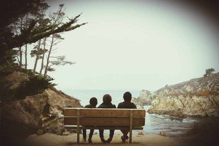 3 generatios Siluetas Paz Siluette Relaxing Peaceful Sea View Point Lobos First Eyeem Photo
