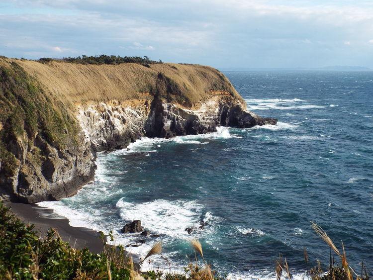 Japan Photography Yokosuka Beauty In Nature Cliff Nature Outdoors Sea Sea And Sky 城ケ崎