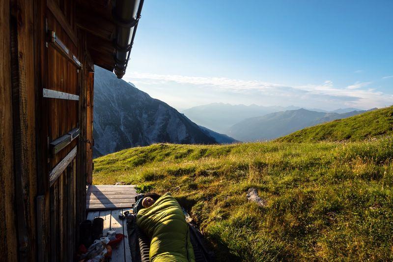 Goooood Morning! Adventure Sunrise Mountain Mountain Range Nature Scenics Landscape Sky Beauty In Nature Outdoors Tranquility Day