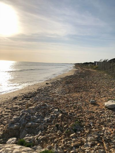 Sky Water Sea Beach Land Scenics - Nature Tranquility