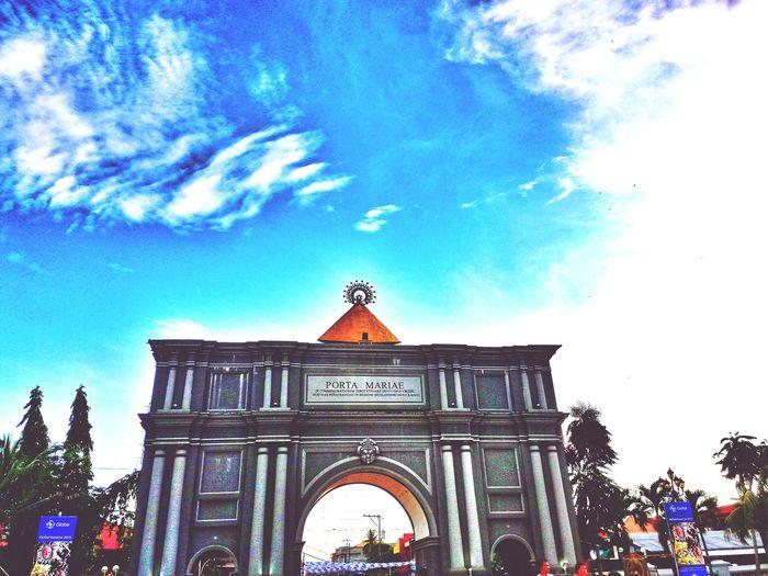 Porta Mariae Porta Mariae Viva La Virgen Nuestra Señora De Peñafrancia Basilica Naga City Philippines Naga City Eye4photography  Eyeem Philippines EyeEm Best Edits EyeEm Gallery