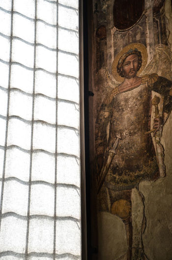 Affresco Drawing Finestra Gonzaga History Italia Italy Mantova Medieval Moyen âge Paint Palazzo Ducale, Mantova