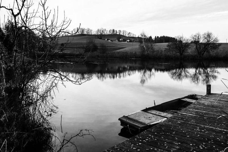 Feeling Black and White Today... Beat-fighter Landscape Deutschland Herbst Herbststimmung Der Herbst Ist Da