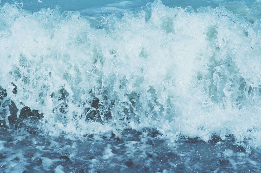 Ocean Beach Waves Plash Blue Water Blue Foam Soothing Nature Beauty In Nature The Great Outdoors With Adobe The Essence Of Summer Fine Art Photography TakeoverContrast Enjoy The New Normal The Great Outdoors - 2017 EyeEm Awards The Week On EyeEm An Eye For Travel
