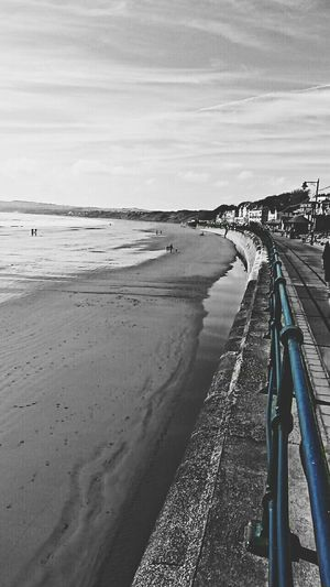 Beach Sand Sea Landscape Outdoors Water Mobilephotography Filey Filey Bay Twotone  Blackandwhite Filey Seafront PhonePhotography Snapshots_daily Photography Photooftheday Likes4likes Beachphotography Beachlife Sand & Sea Mobile Photography Beach Holiday Filey Beach First Eyeem Photo