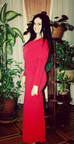 Check This Out Red Red Dress Girl
