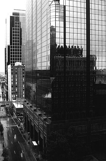 Architecture Building Exterior Built Structure Modern City Skyscraper Blackandwhite Photography Black And White Cityscape No People Skycrapercity City LifeDay Black And White City Street Buildings And Skyscrapers Cityphotography Cityview Black And White Above Street View Outdoors EyeEm Selects The Week On EyeEm The Week On EyeEm Black And White Friday The Architect - 2018 EyeEm Awards