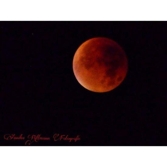 Mondfinsternis 2015  Moon Mond rot blutmond fotografie night nacht beautiful 🌚🌝
