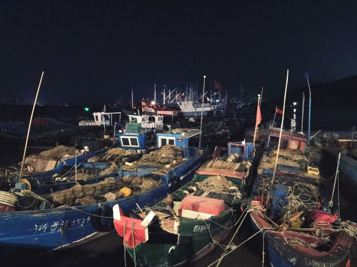 Night Architecture High Angle View Sea No People Water Built Structure Transportation Illuminated Mode Of Transportation Harbor Outdoors