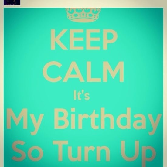 Its my birthday y'all show me some love!!!