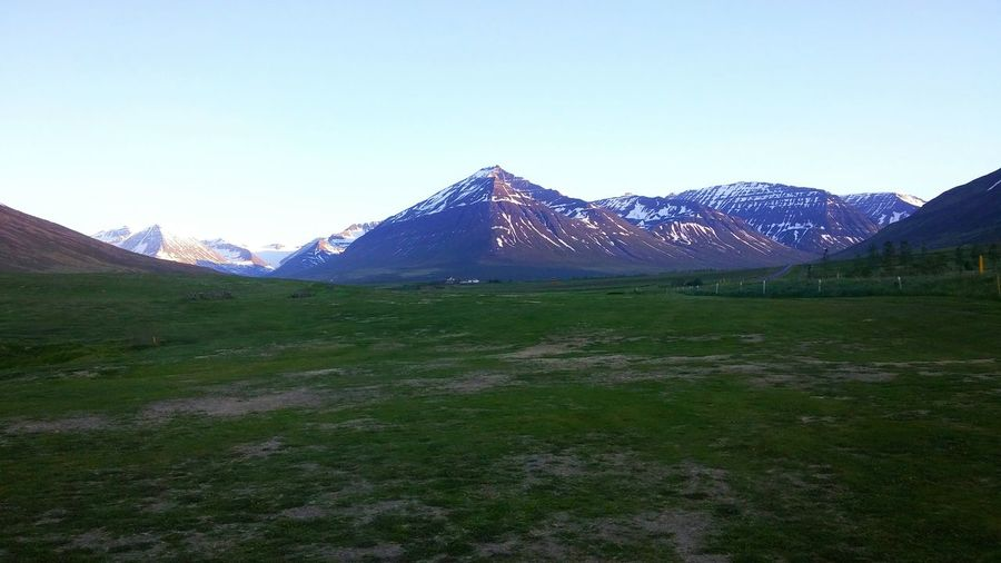 Those SummerNights Iceland Golf ⛳ Landscape Mountains Nature Hobby Countryside