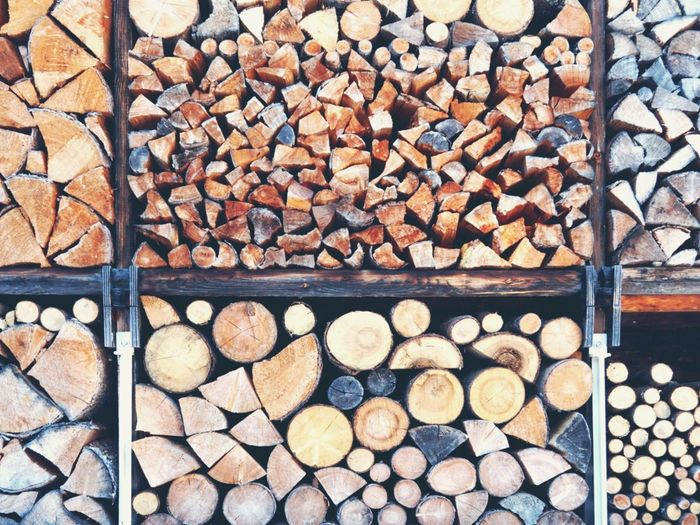 Firewood Woodpile Stack Wood - Material Fullframe