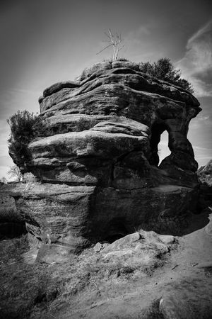 Perspectives On Nature Low Angle View Built Structure Day Rock - Object Sky Architecture Nature Outdoors No People Tree Travel Destinations Ancient Civilization Beauty In Nature