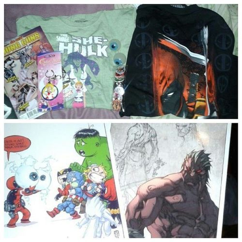 Stash From Special Edition:NYC & Forbidden Planet SENYC14 Marvel ForbiddenPlanet Sailormoon ComicLover