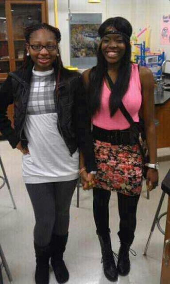 Bestfriends since 7th grade I love her I swear ♥