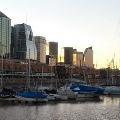 Tríptico en Puertomadero Caba Baires Argentina igersargentina triptych triptyque port dawn sunshine