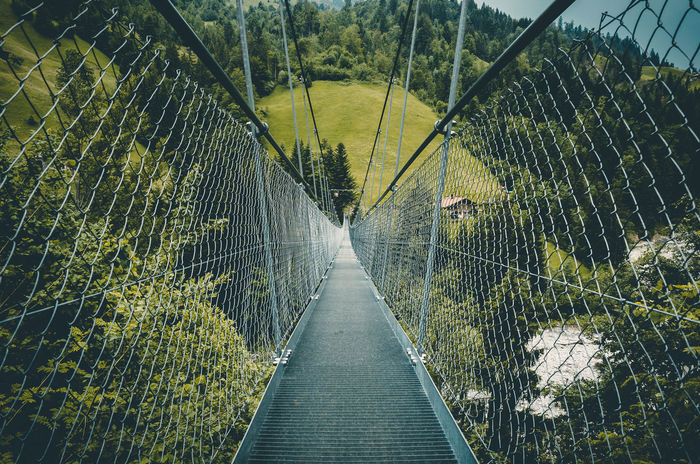Adelboden Bridge Day Green Mountain Nature No People No People, Outdoors Perspective Swing Bridge Swizerland Swizerland Tourism The Way Forward Travelling Nature Photography Tourism Beauty In Nature Mountains Bridges Bridge View Swiss Mountains Outdoor Photography Landscape_photography Adventure