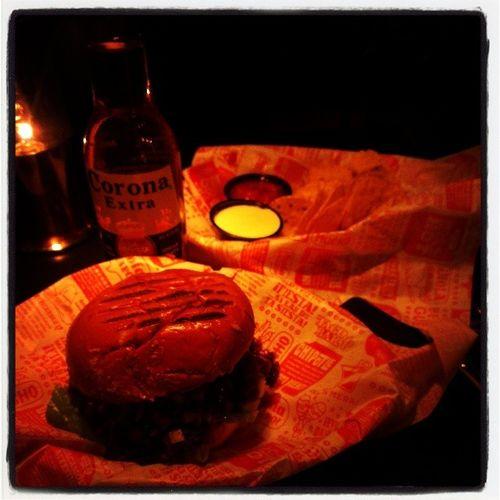 En enkel BBQ Burger till kvällen