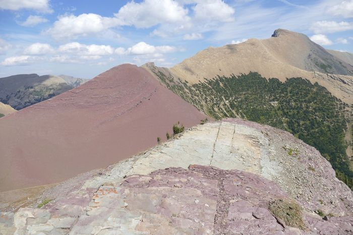 EyeEm Selects Waterton peaks. Mountain Landscape No People Beauty In Nature Waterton Lakes National Park Carthew Red Rocks