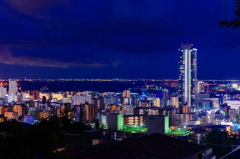 Lightroom Lightroom Edit AF-S NIKKOR 35mm F/1.8G ED NIKON D5300 Nikon DSLR Nightview Kobe Japan Japan City Cityscape Night