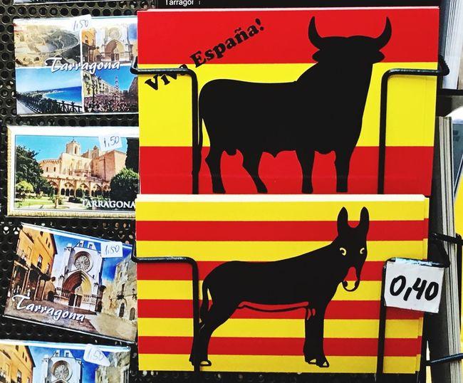 Spain Catalunya Referendum Flag Dependencia Tarragona