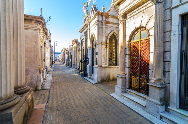 Recoleta Cemetery, the most important and famous cemetery in Argentina Architecture Argentina Buenos Aires Bulding Cementery City History Important Landmark Mausoleum Monument Neighborhood Old Outdoor Outdoors Recoleta Recoleta Cemetery Rising Sculpture Sky South America Style Tourism Travel Urban