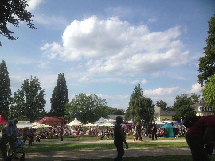 Sagenhaftes Parkfestival