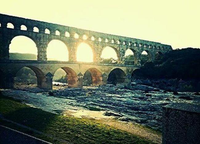 Pont du gard *-* camposcuola in Provenza.. che posti stupendi <3 Traveling Beautiful ♥ Ogni Viaggio Ha Un Suo Ricordo ..❤ ... In Viaggio ...
