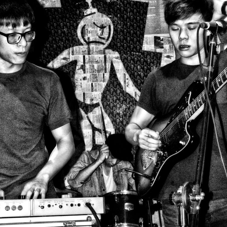 ..taiwanese band 'macbeth' EyeEm Best Shots - Black + White ..we Blew This Day Away.. ..suspension Is Illusion.. ..this Look Is A Bridge..