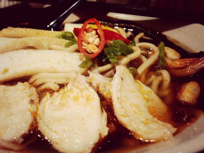prawn noodles for dinner Klubpengunyah Foodporn Culinary Jakarta