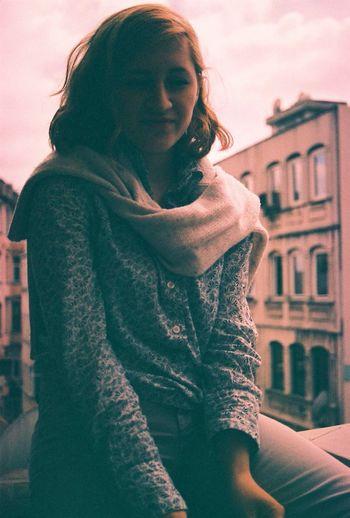 Girl Analogue Photography The Portraitist - 2014 EyeEm Awards
