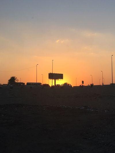 Sunset Egypt Hello World Enjoying Life