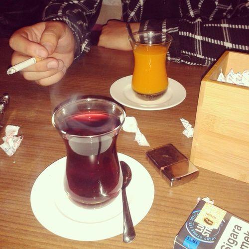 Sonunda Bir Kafede Oralet bulduk :-)