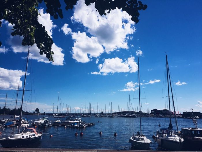 First Eyeem Photo Nature Sky Water Travel Cloud - Sky Outdoors Sailboat Sea Boat Beauty In Nature Nature Summer Vacations Lifestyles