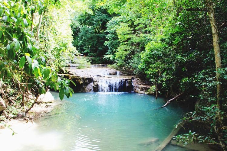 Waterfall Nature Nature_collection Relaxing Erawan Waterfall