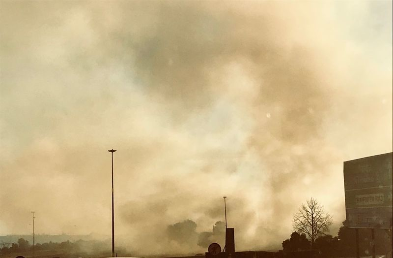 Wildfire in