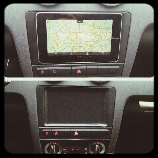 install nexus7 in car audi a3 Audi A3 Nexus 7 Car